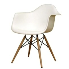 Eiffel Chair Wood Legs Folding Patent Reproduction Arm With Mod House
