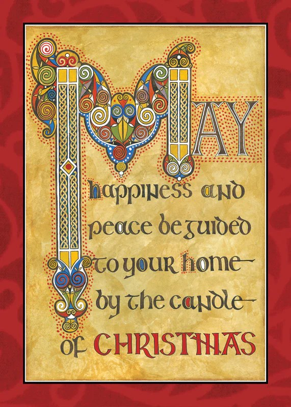 CC24 Candle Of Christmas Card