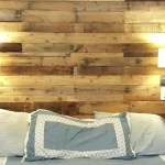 Queen Size Bed Reclaimed Pallet Headboard Diy Rustic Pallet Products