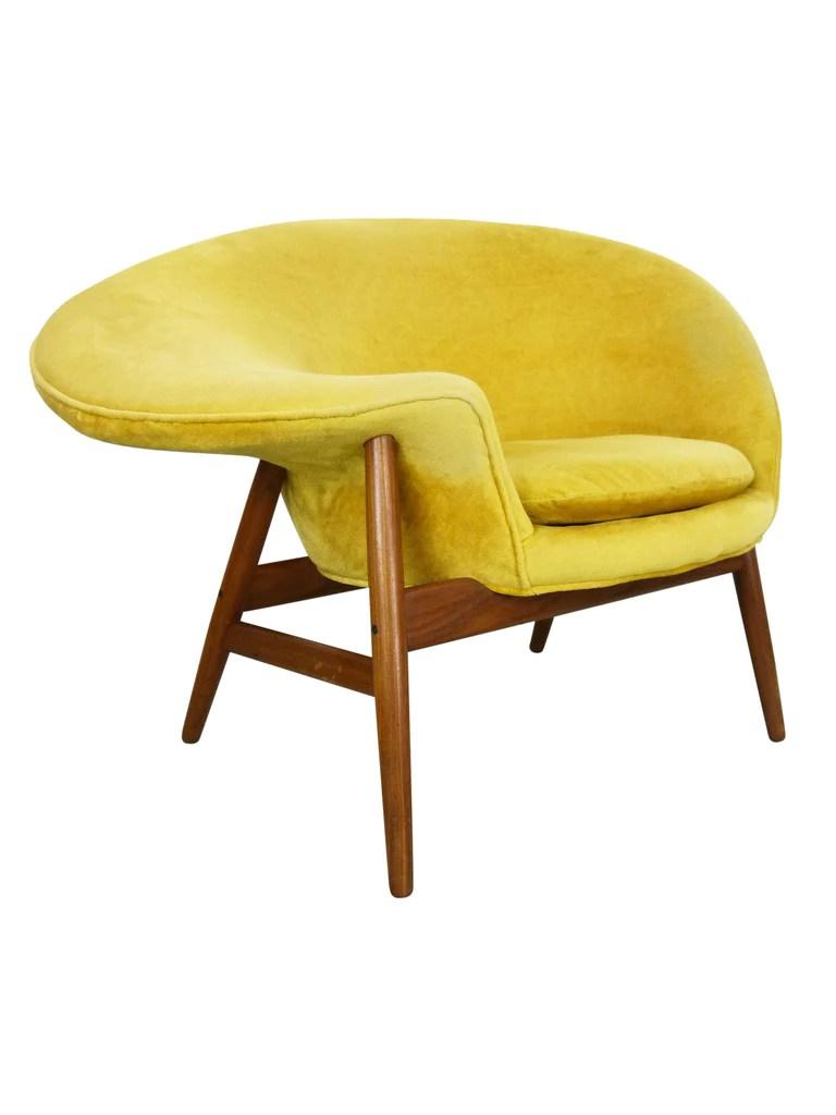 fried egg chair toilet seat hans olsen bramin denmark danish modern oneandhome by for of img 1
