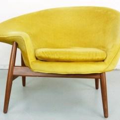 Fried Egg Chair Officeworks Recliner Chairs Hans Olsen Bramin Denmark Danish Modern
