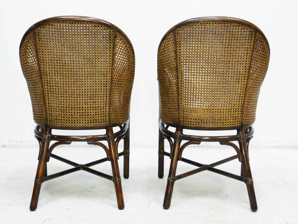 bamboo cane back chairs kids school and by mcguire pair oneandhome
