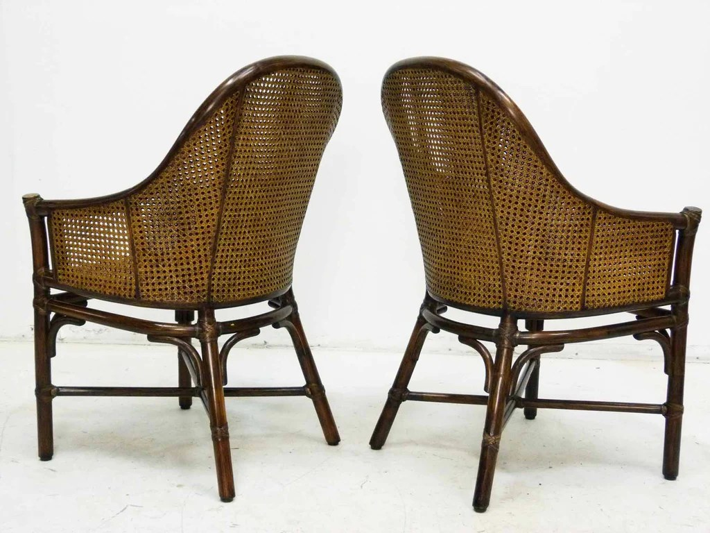 bamboo cane back chairs game of thrones office chair and by mcguire pair oneandhome