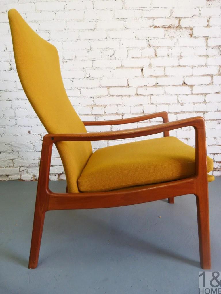 Ole Wanscher France  Sons Teak Lounge Chair Danish Modern