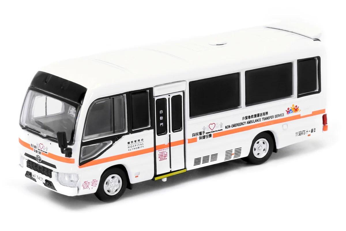 TINY 豐田COASTER 非緊急救護車 1:76 合金車 – GameoverHK