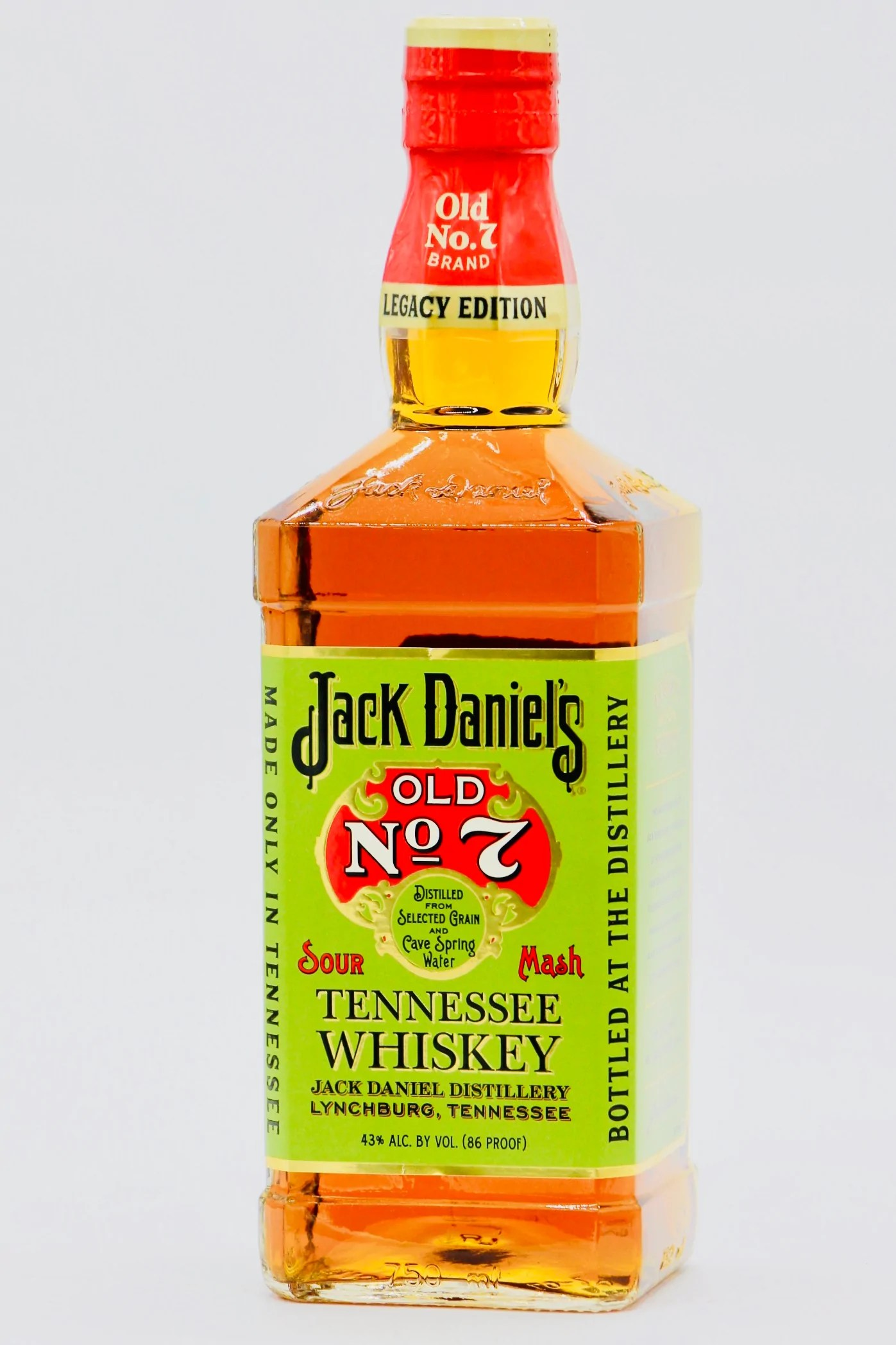 Jack Daniel's Legacy Edition #1 Sour Mash Tennessee ...
