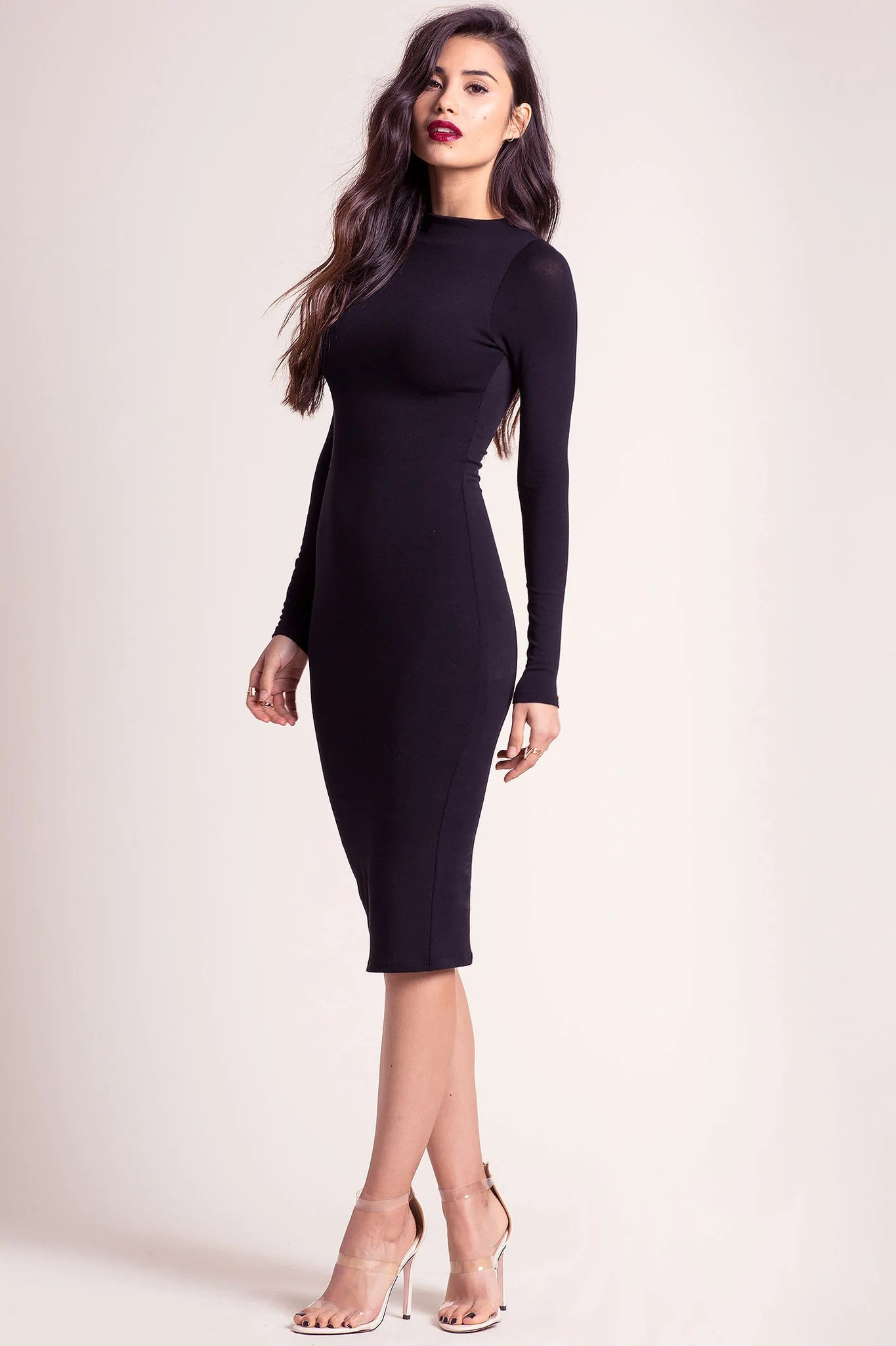 Long Sleeve Little Black Dress