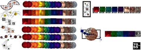 Interchangeable Color Chart