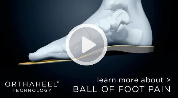 Ball of Foot Pain   Vionic Shoes Canada
