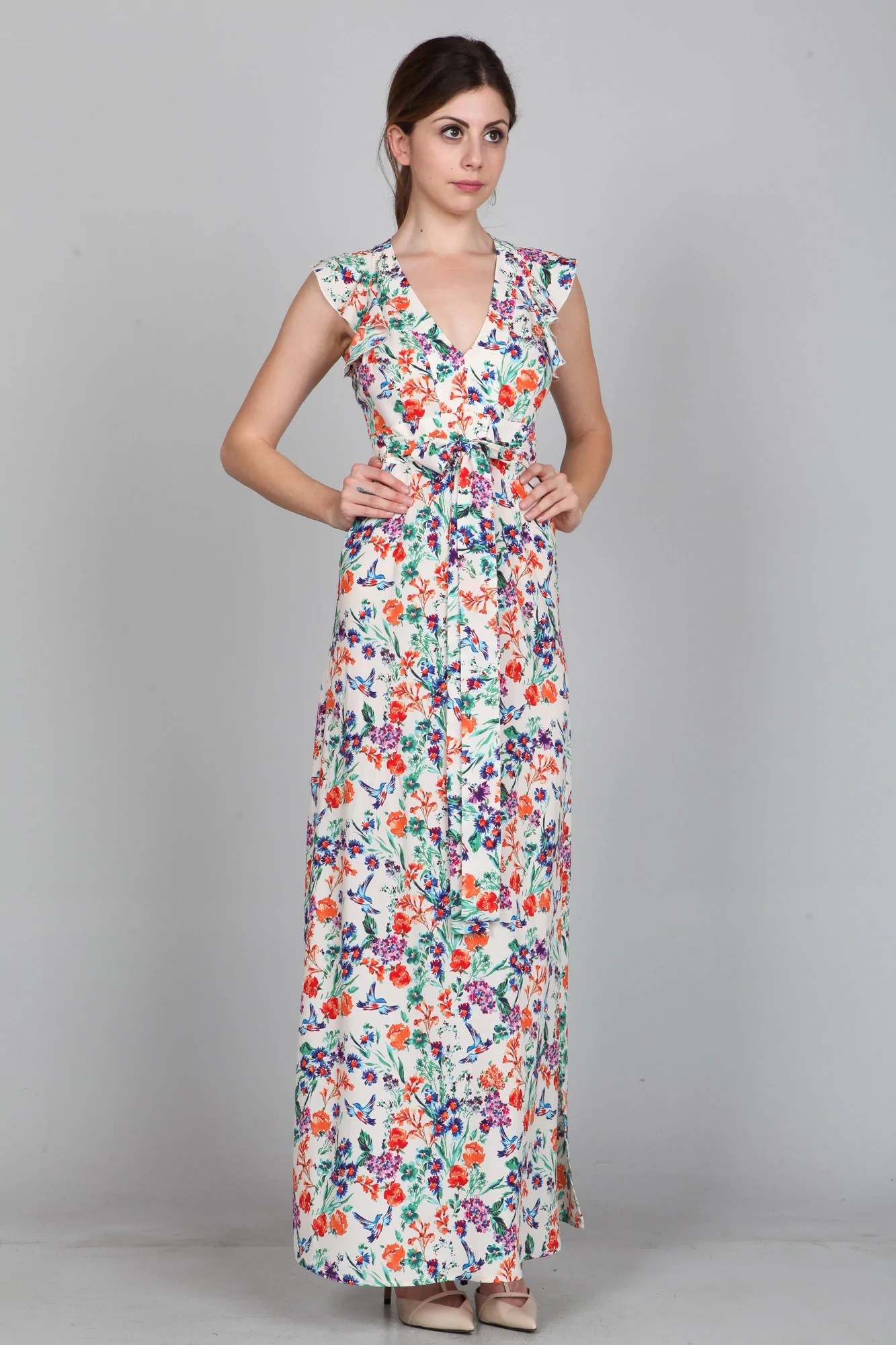 Floral Maxi Dress Cecil Lee
