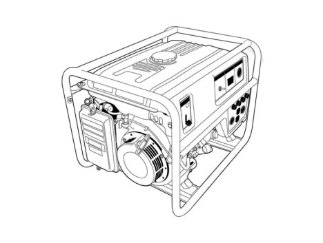 Image result for images of a generator sketch