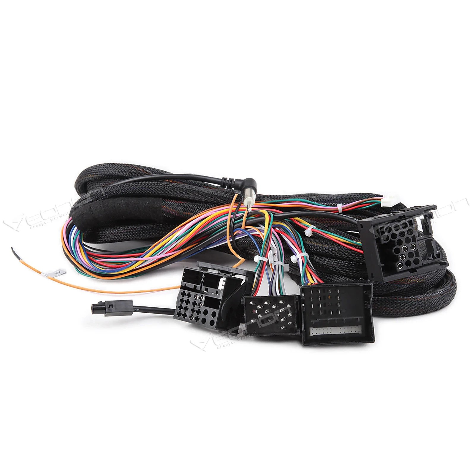 extension cable for bmw e46 3 series e39 5 series e53 x5 with aftermarket  [ 1600 x 1600 Pixel ]