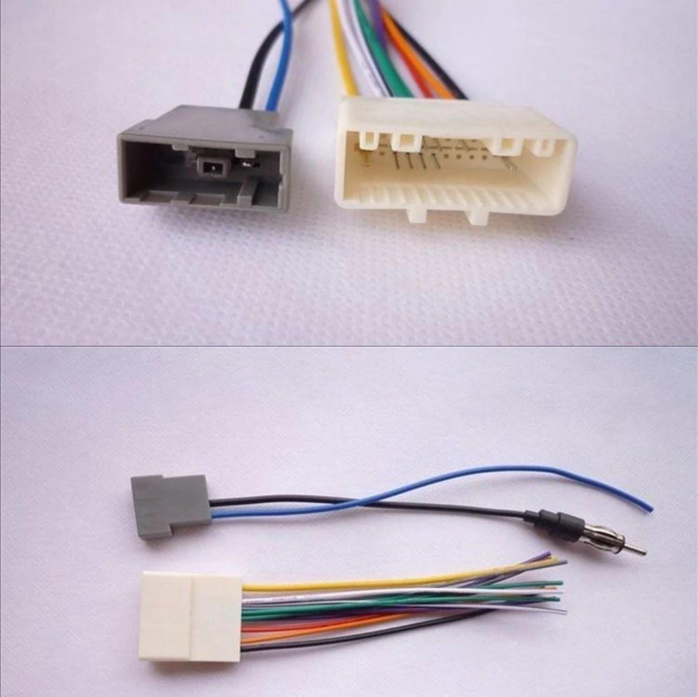 medium resolution of car radio stereo wiring harness antenna adapter combo for 2007 2014 nissan