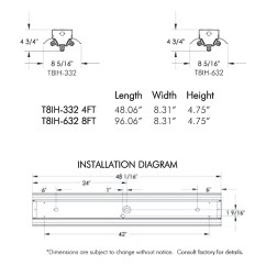T8 Dimming Ballast Wiring Diagram Nissan Almera Radio 8 Foot Fluorescent Light
