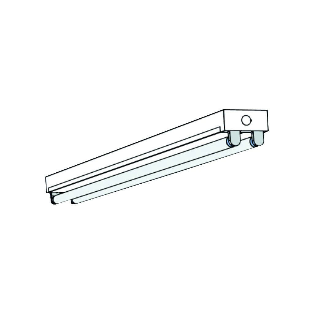 small resolution of t8 fluorescent t8st 1 2 4 lamp mini strip 4 8 feet lighting fixtures