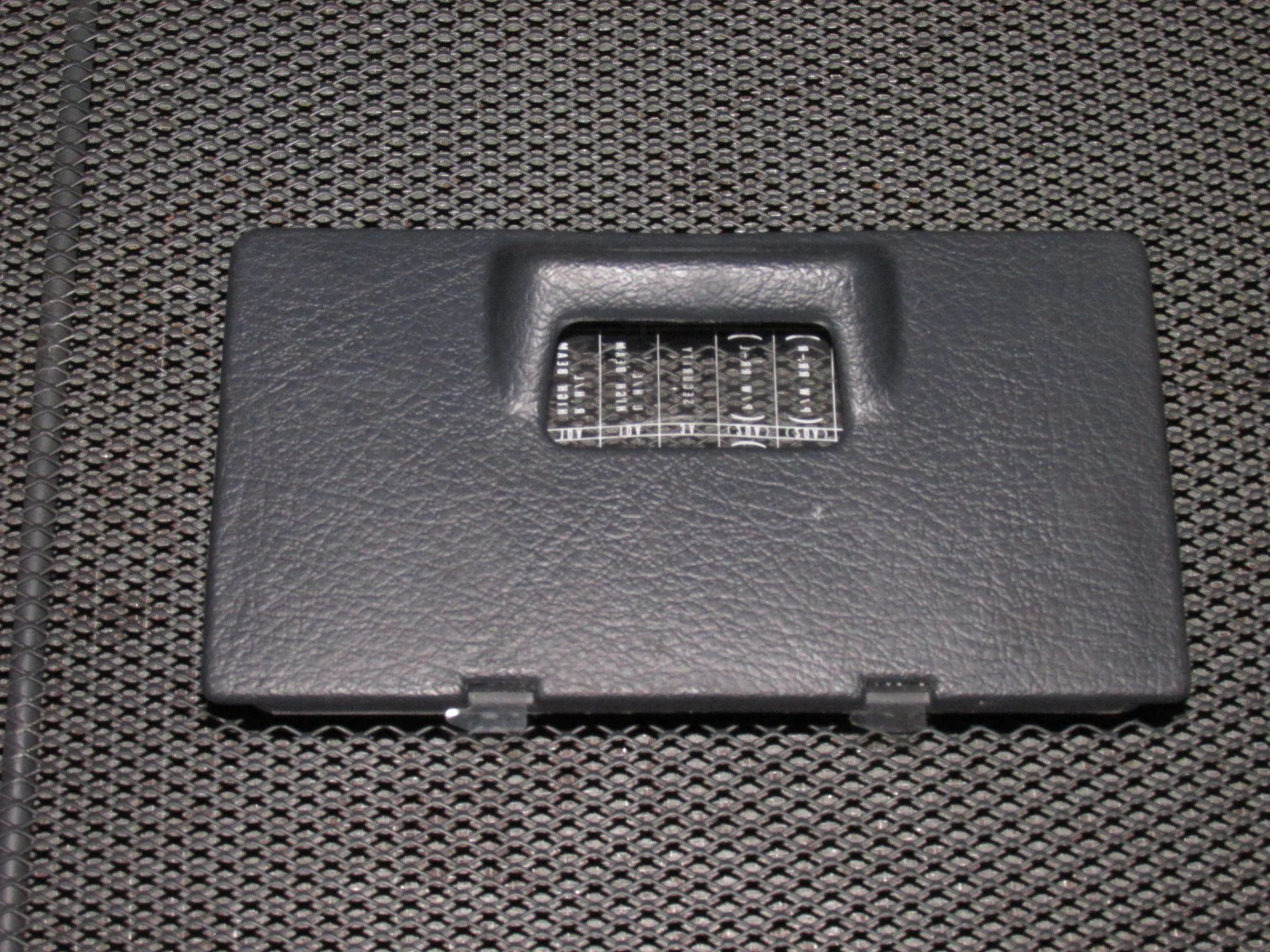 96 97 98 99 00 honda civic oem interior fuse box cover [ 1600 x 1200 Pixel ]