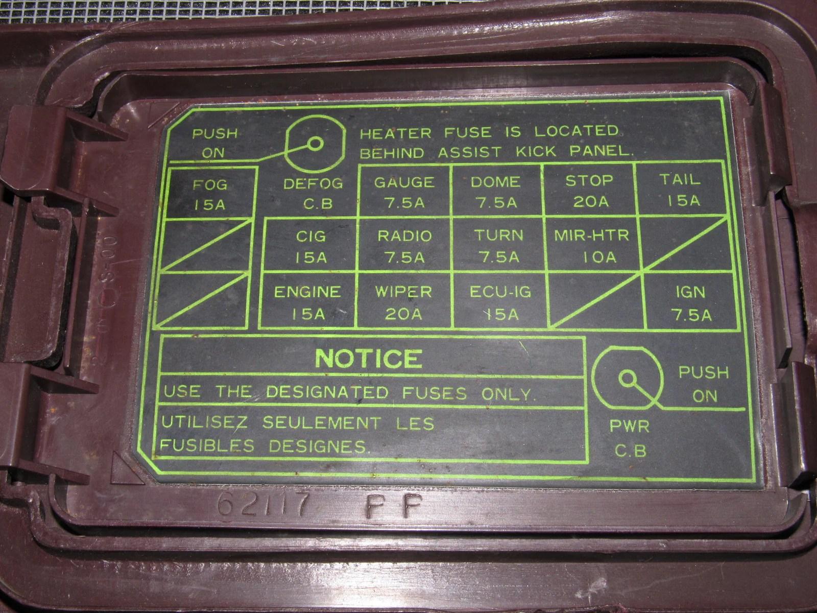 small resolution of 86 87 88 toyota supra oem interior kick panel cover autopartone com 1989 toyota camry 1989 toyota supra fuse box panel