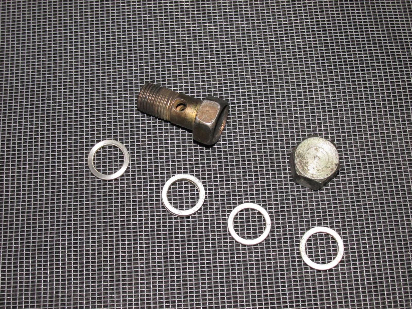 99 00 honda civic oem fuel filter line banjo bolt product image  [ 1600 x 1200 Pixel ]