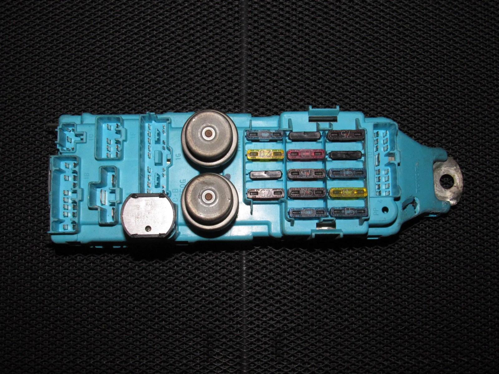 hight resolution of 86 87 88 toyota supra oem turbo interior fuse box