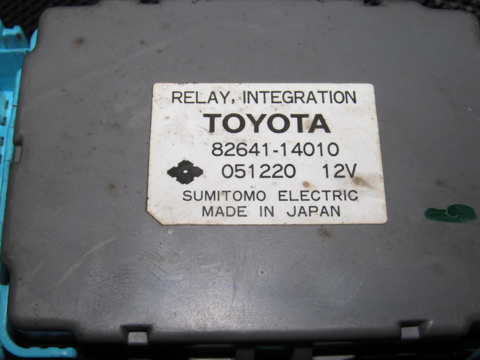 86 87 88 toyota supra oem turbo interior fuse box [ 1600 x 1200 Pixel ]