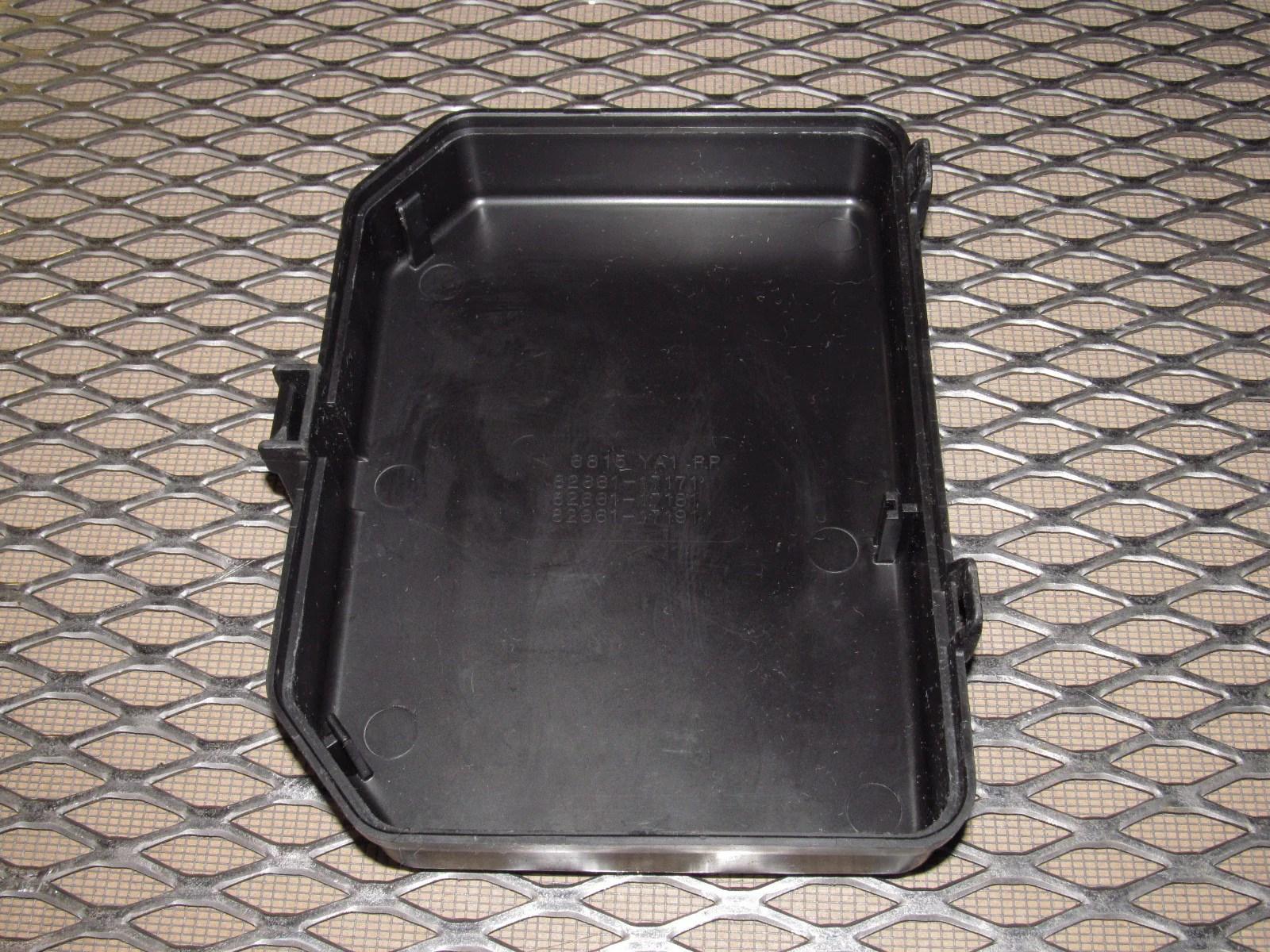 medium resolution of  91 92 93 94 95 toyota mr2 oem hood fuse box cover