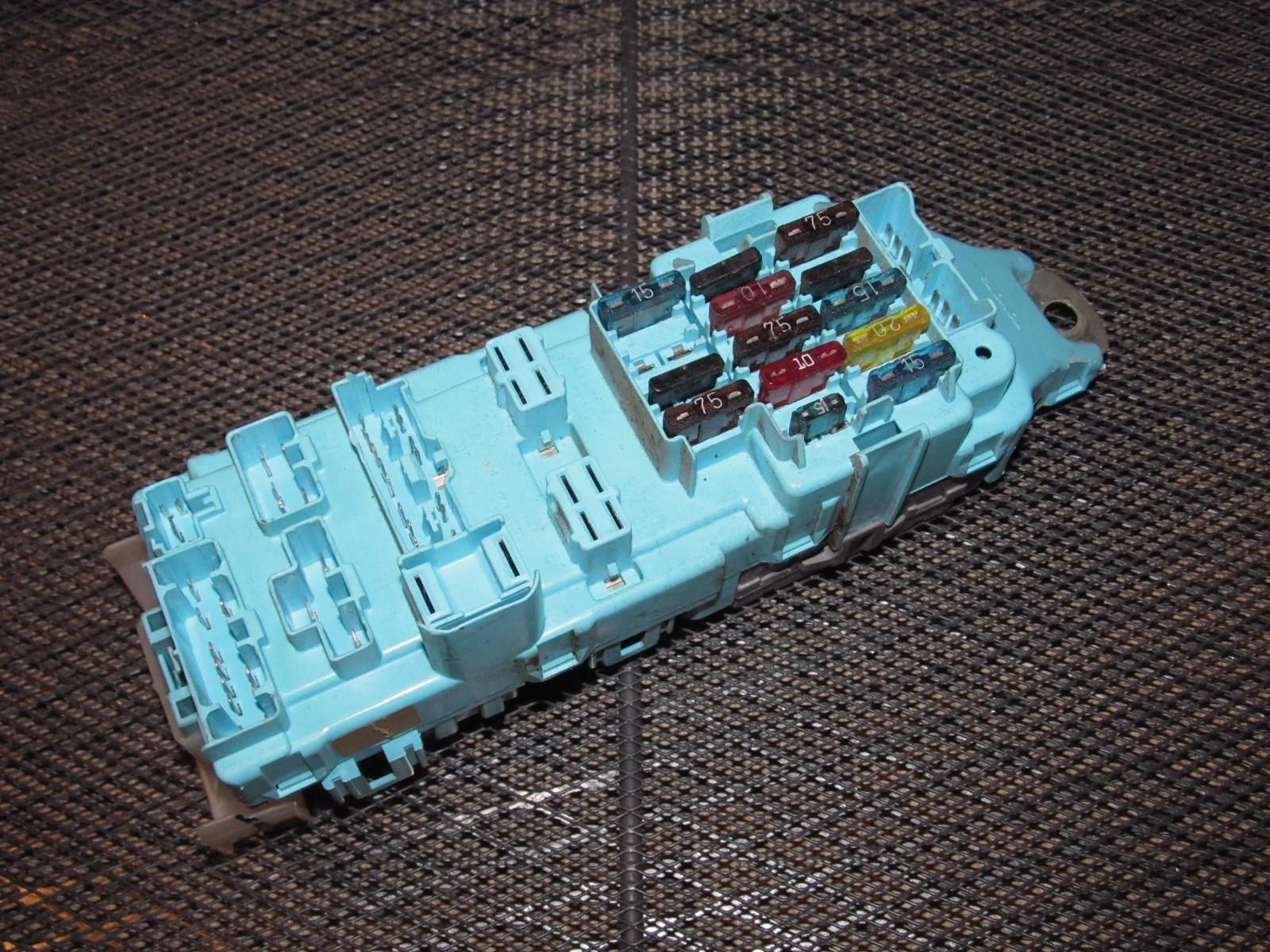 hight resolution of  91 92 toyota supra oem interior fuse box product image