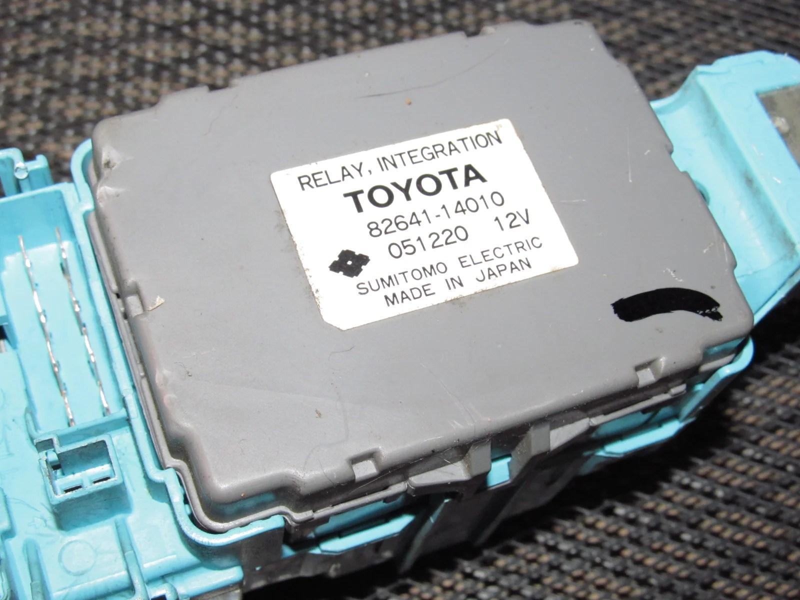 89 90 91 92 toyota supra oem interior fuse box [ 1600 x 1200 Pixel ]