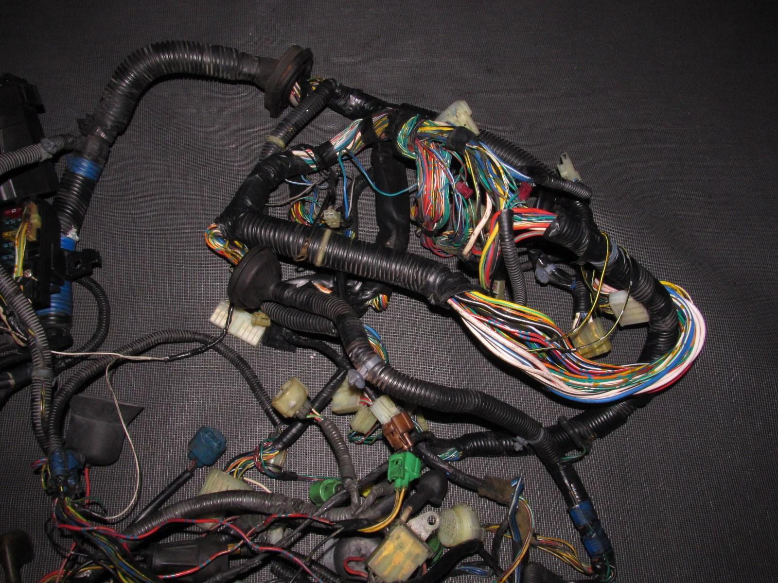 hight resolution of  88 89 honda crx oem d15b2 engine wiring harness
