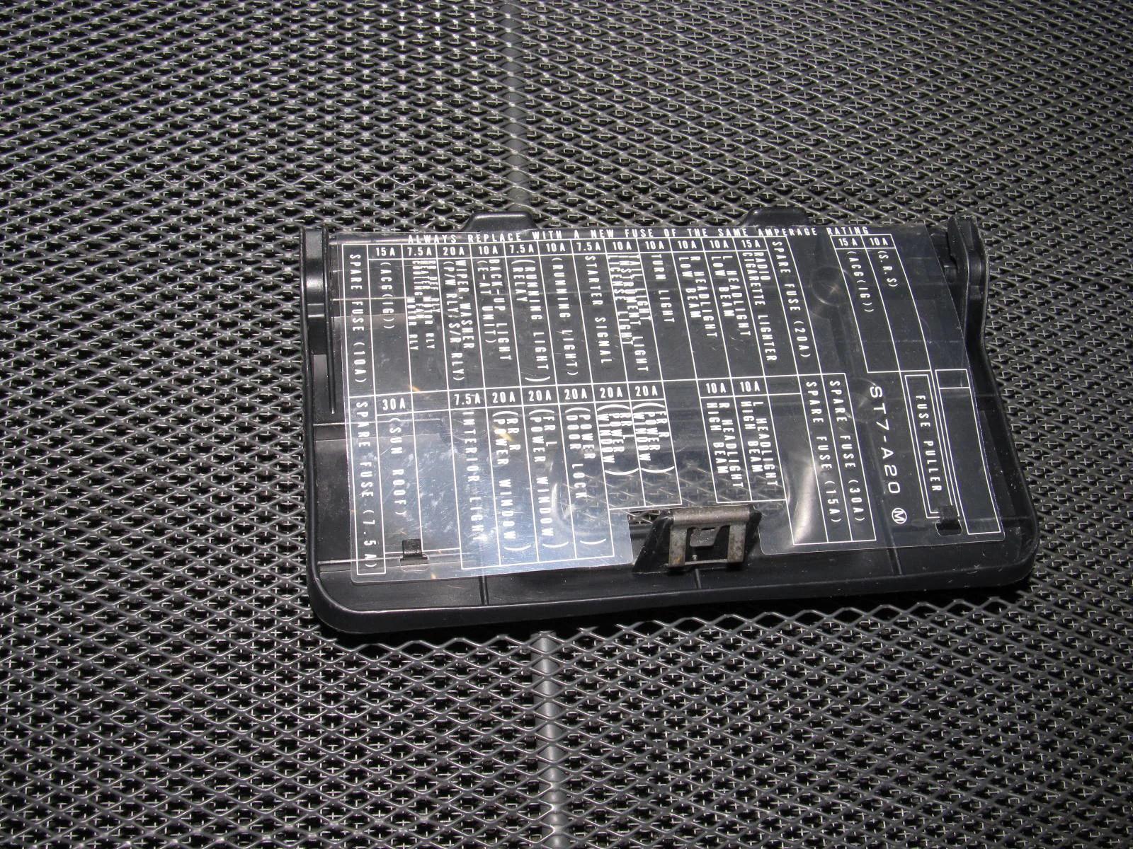 small resolution of  94 95 96 97 98 99 00 01 acura integra oem interior fuse box cover