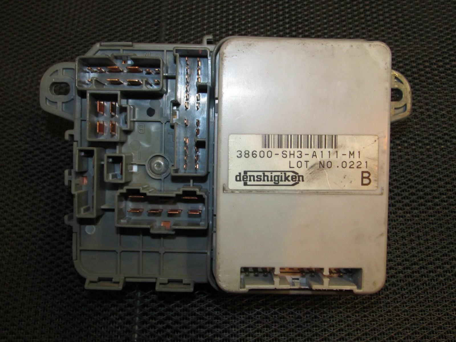 small resolution of  88 89 honda crx oem d15b2 interior fuse box