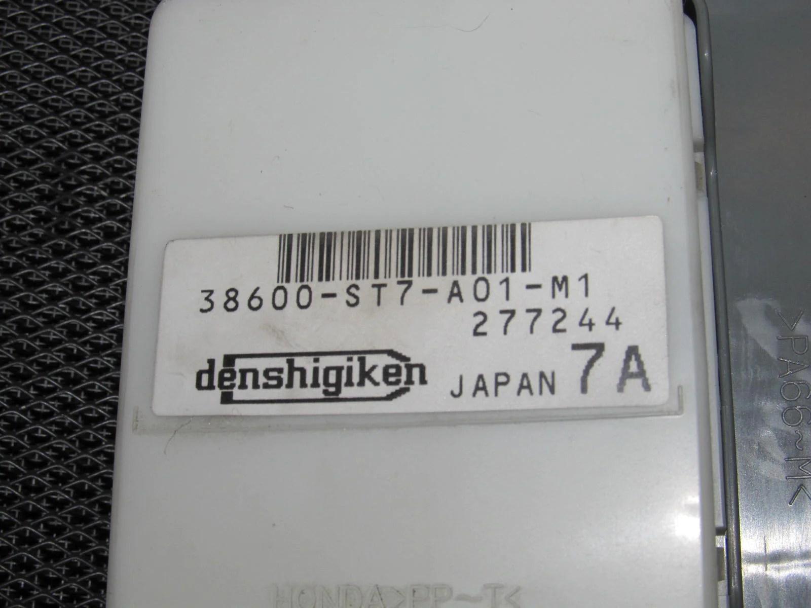94 95 96 97 98 99 00 01 acura integra oem interior fuse box [ 1600 x 1200 Pixel ]