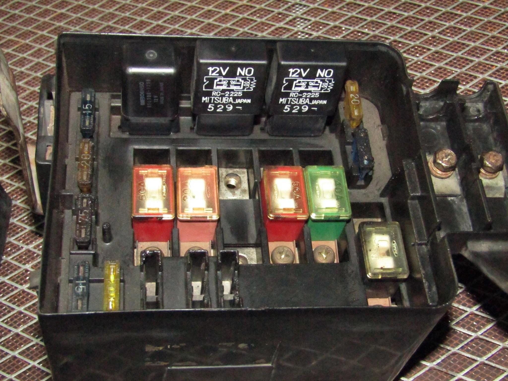 93 94 95 96 97 honda del sol oem engine fuse box d16z6  [ 2048 x 1536 Pixel ]