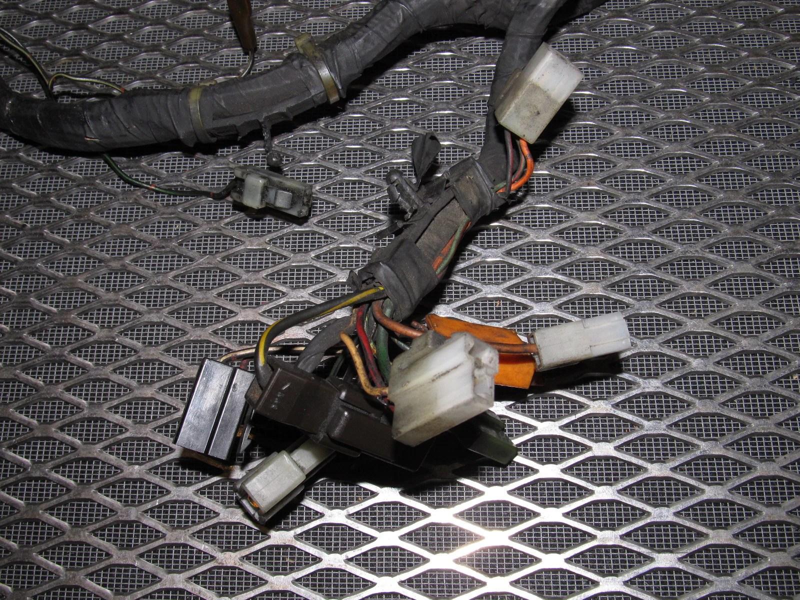 hight resolution of 84 85 mazda rx7 oem 12a engine wiring harness m t autopartone com rh autopartone com fd