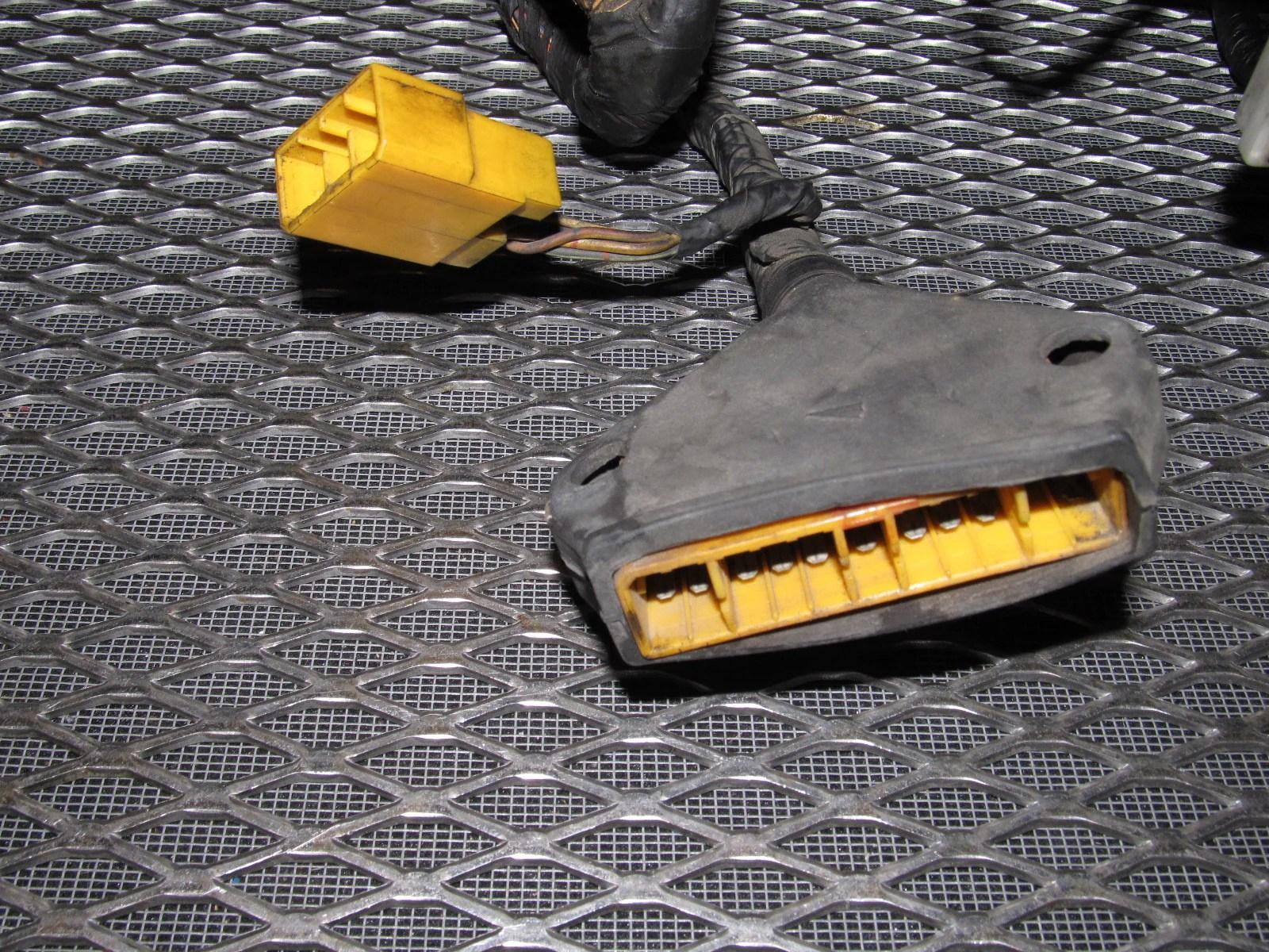 84 85 mazda rx7 oem 12a engine wiring harness m t  [ 1600 x 1200 Pixel ]