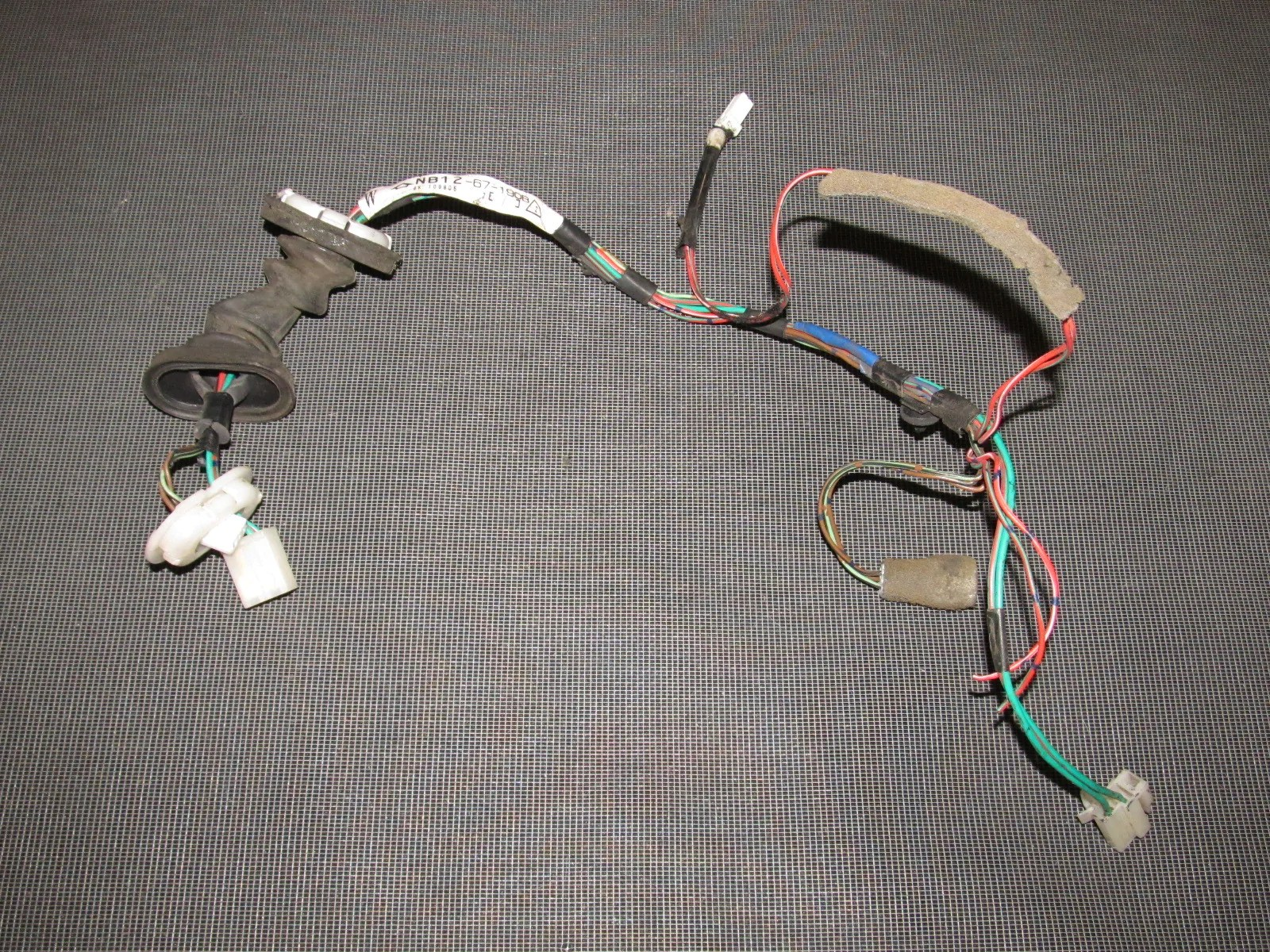 hight resolution of  mazda miata oem door wiring harness right product image