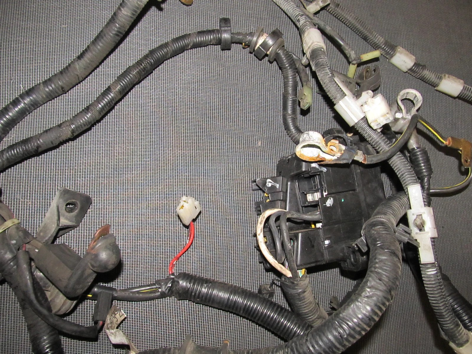 medium resolution of  94 95 96 97 mazda miata oem battery starter alternator wiring m t harness