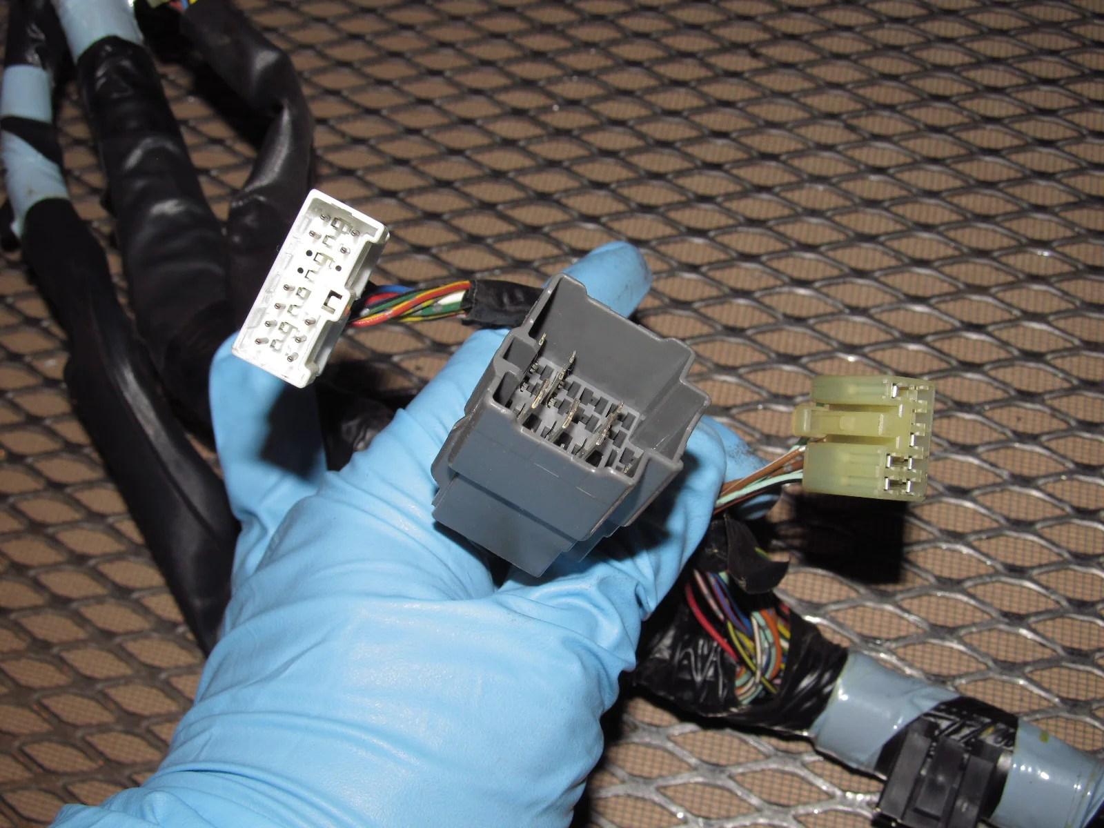 hight resolution of  89 90 91 92 toyota supra oem dash wiring harness