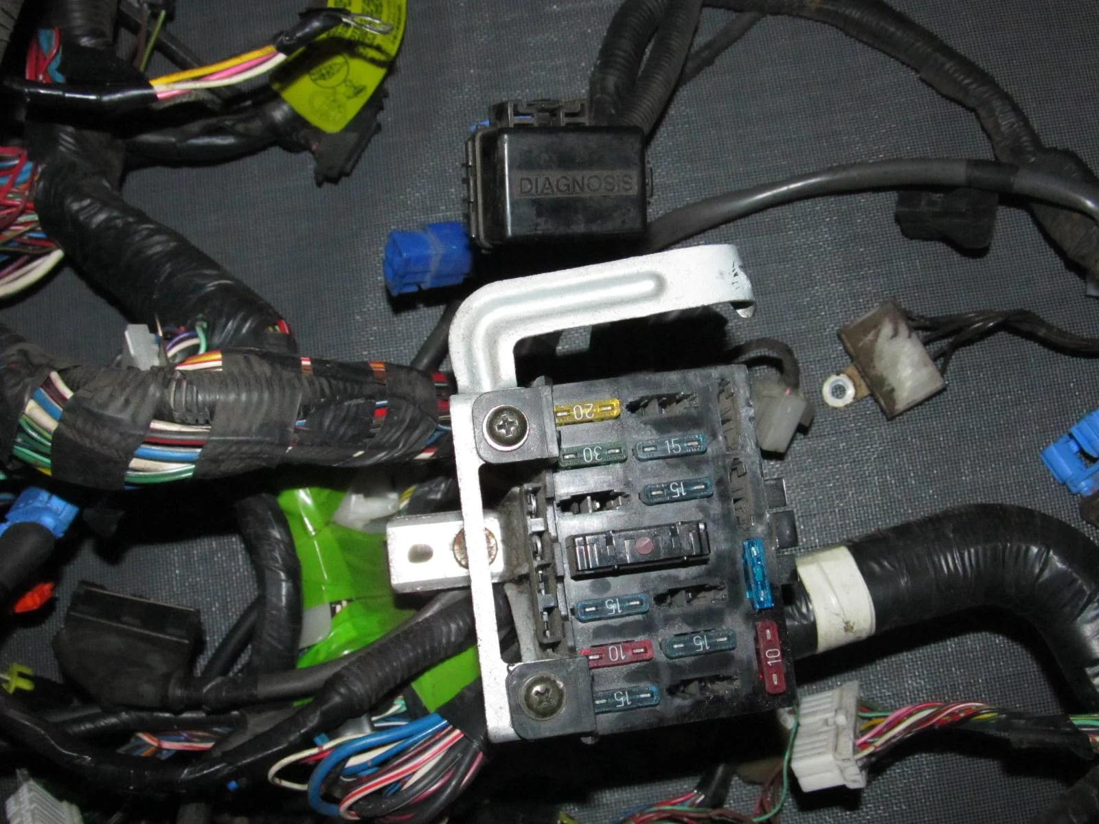 90 93 miata oem computer ecu u0026 interior fuse box u0026 headlight wiring90 93 [ 1600 x 1200 Pixel ]