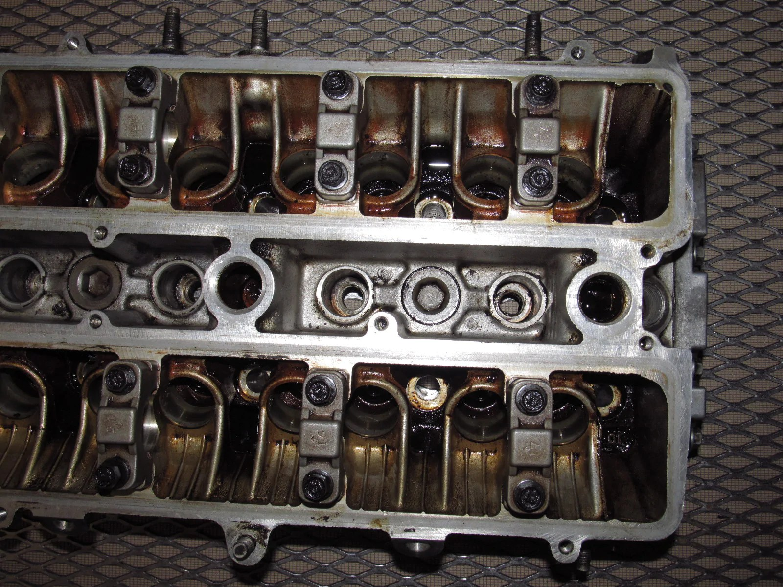 small resolution of 89 90 91 92 toyota supra oem bare engine cylinder head 7mge