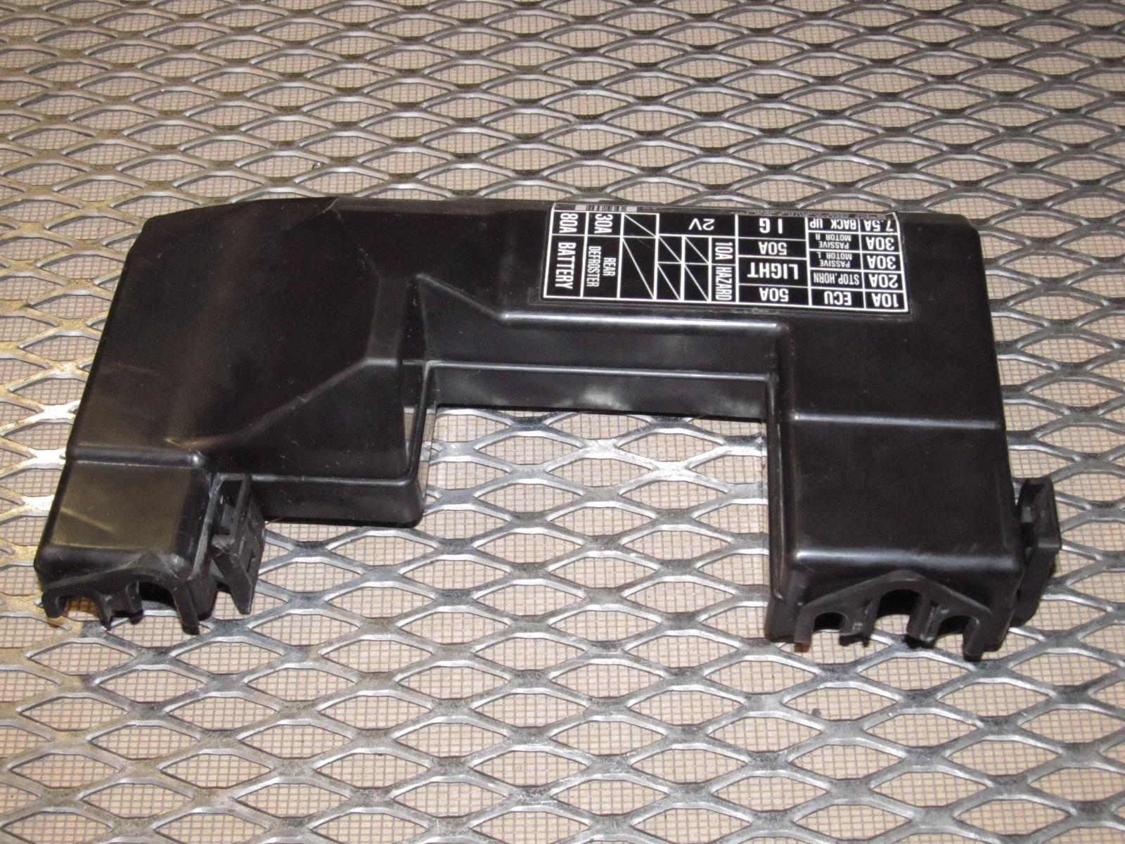 90 91 92 93 acura integra oem engine fuse box cover  [ 1600 x 1200 Pixel ]