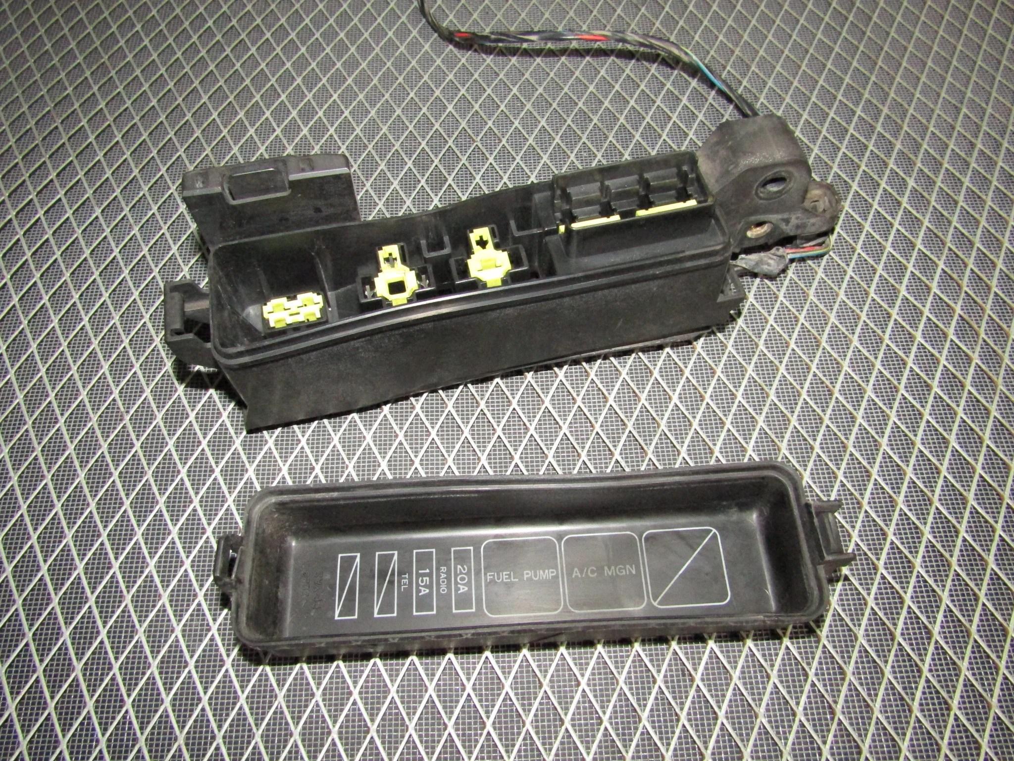 hight resolution of  92 93 toyota camry oem engine relay fuse box 3vz fe v6 3 0