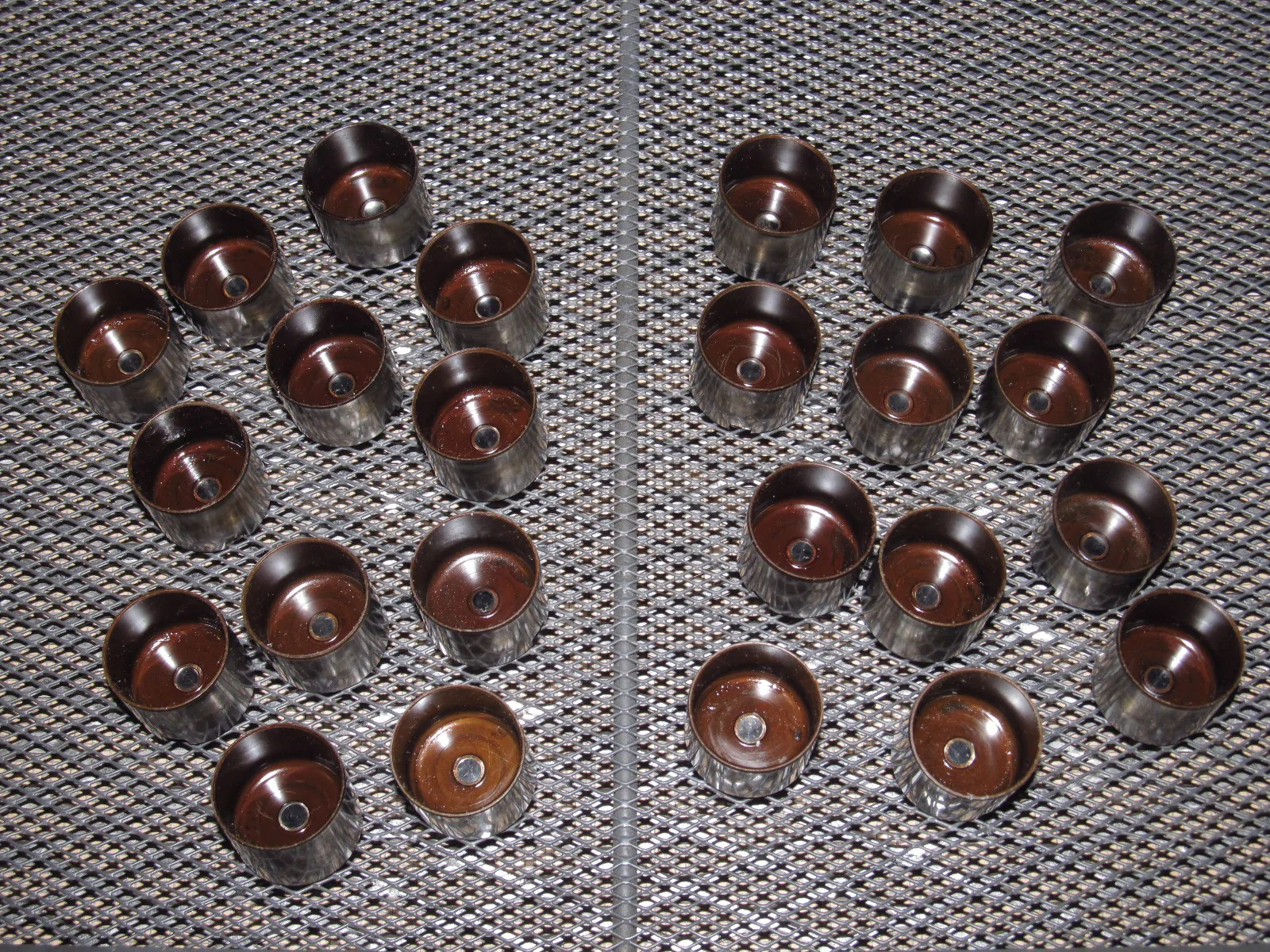 hight resolution of  89 90 91 92 toyota supra oem engine cylinder head valve shims cap