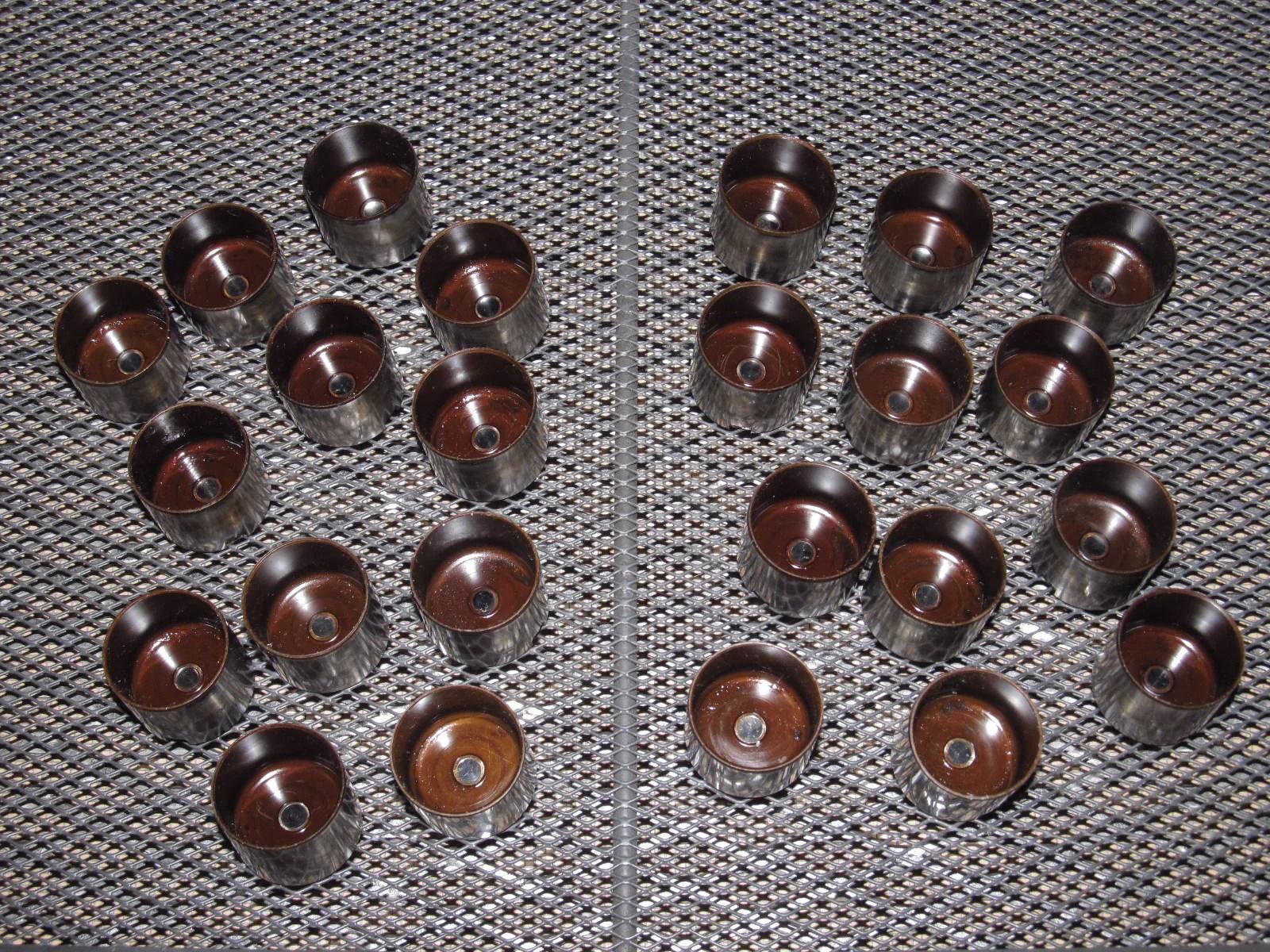 small resolution of  89 90 91 92 toyota supra oem engine cylinder head valve shims cap