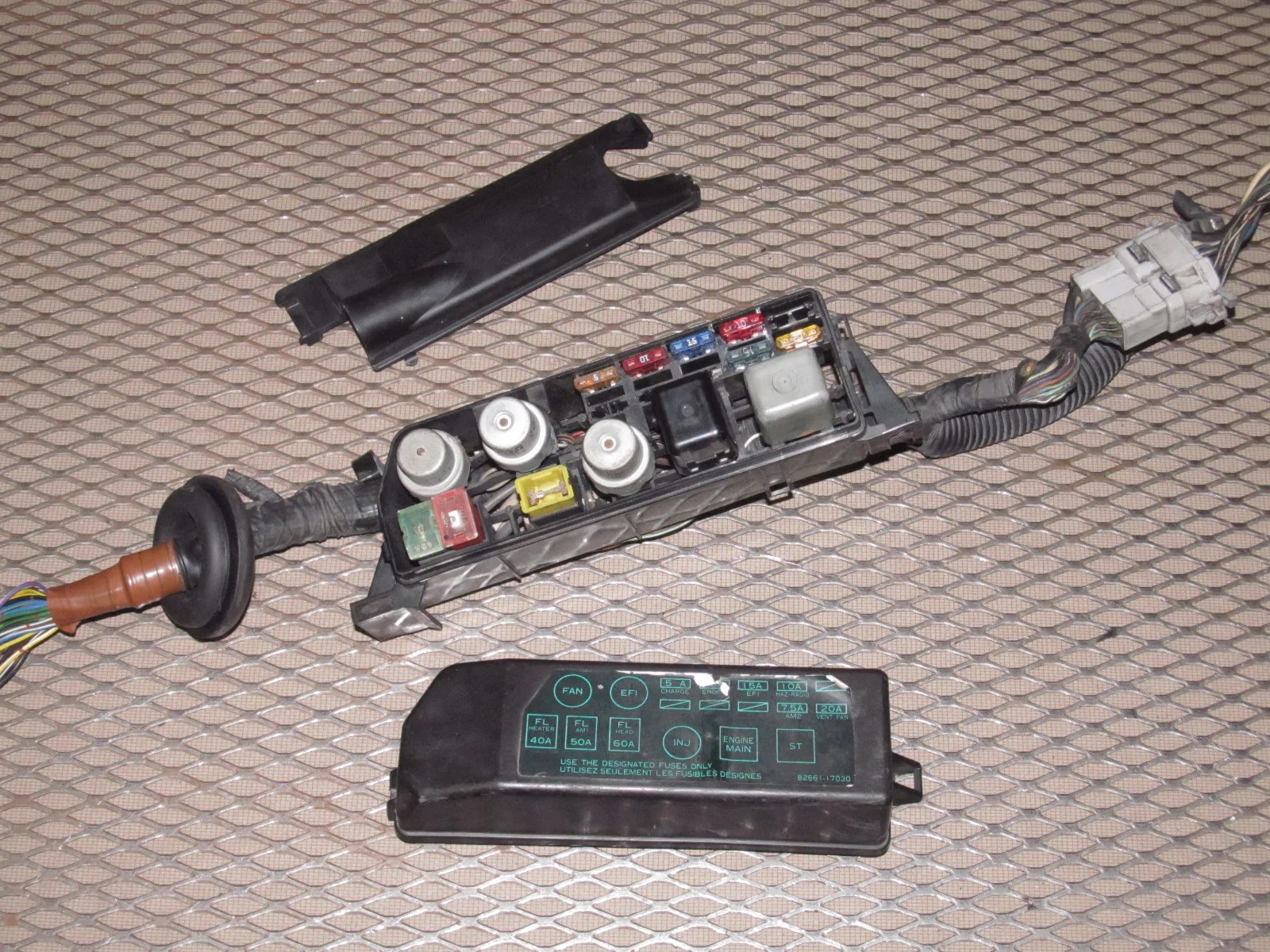 small resolution of  86 toyota mr2 oem engine fuse box product image