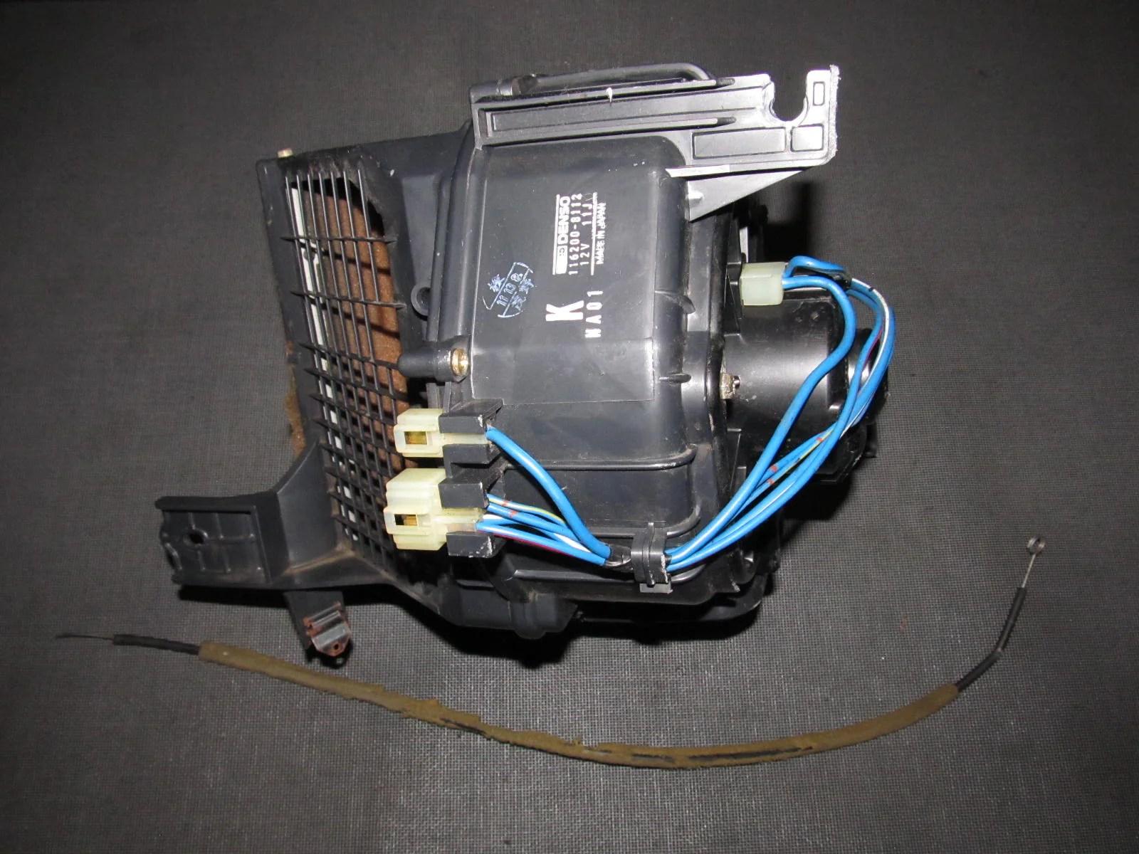 medium resolution of 90 91 92 93 mazda miata oem a c heater blower motor unit