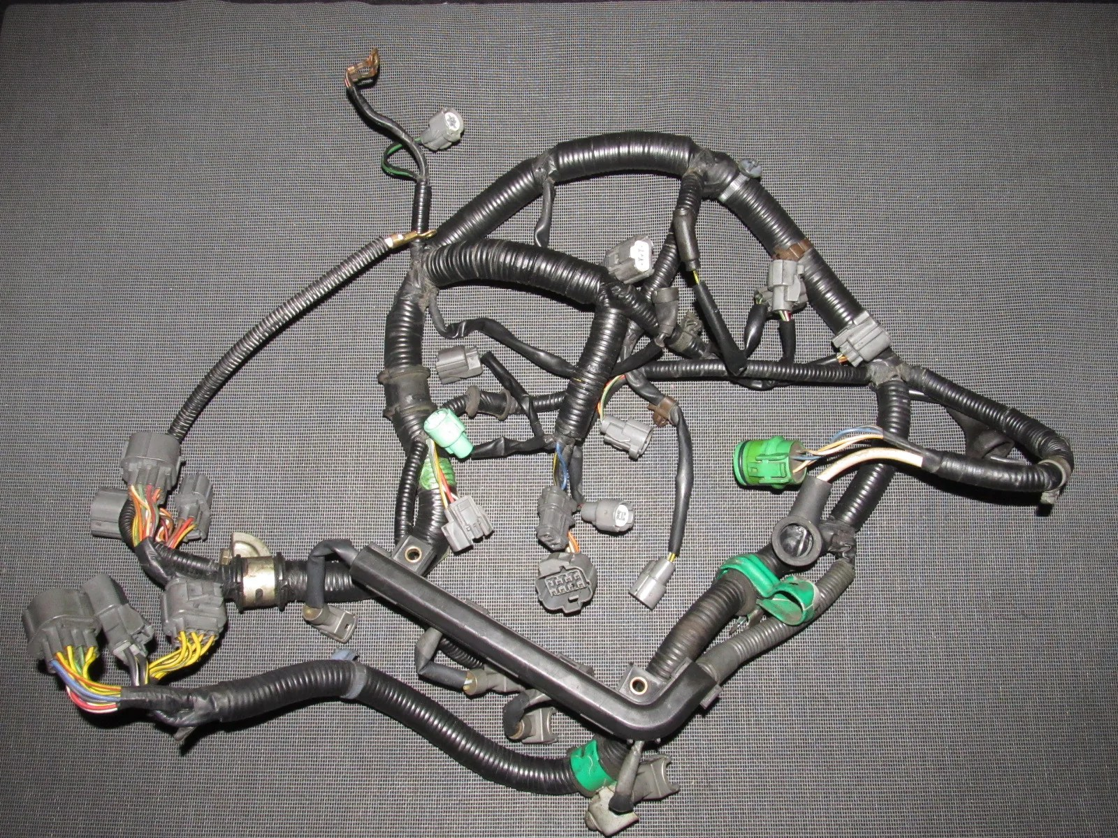 hight resolution of  honda del sol d16z6 auto transmission engine wiring harness product image