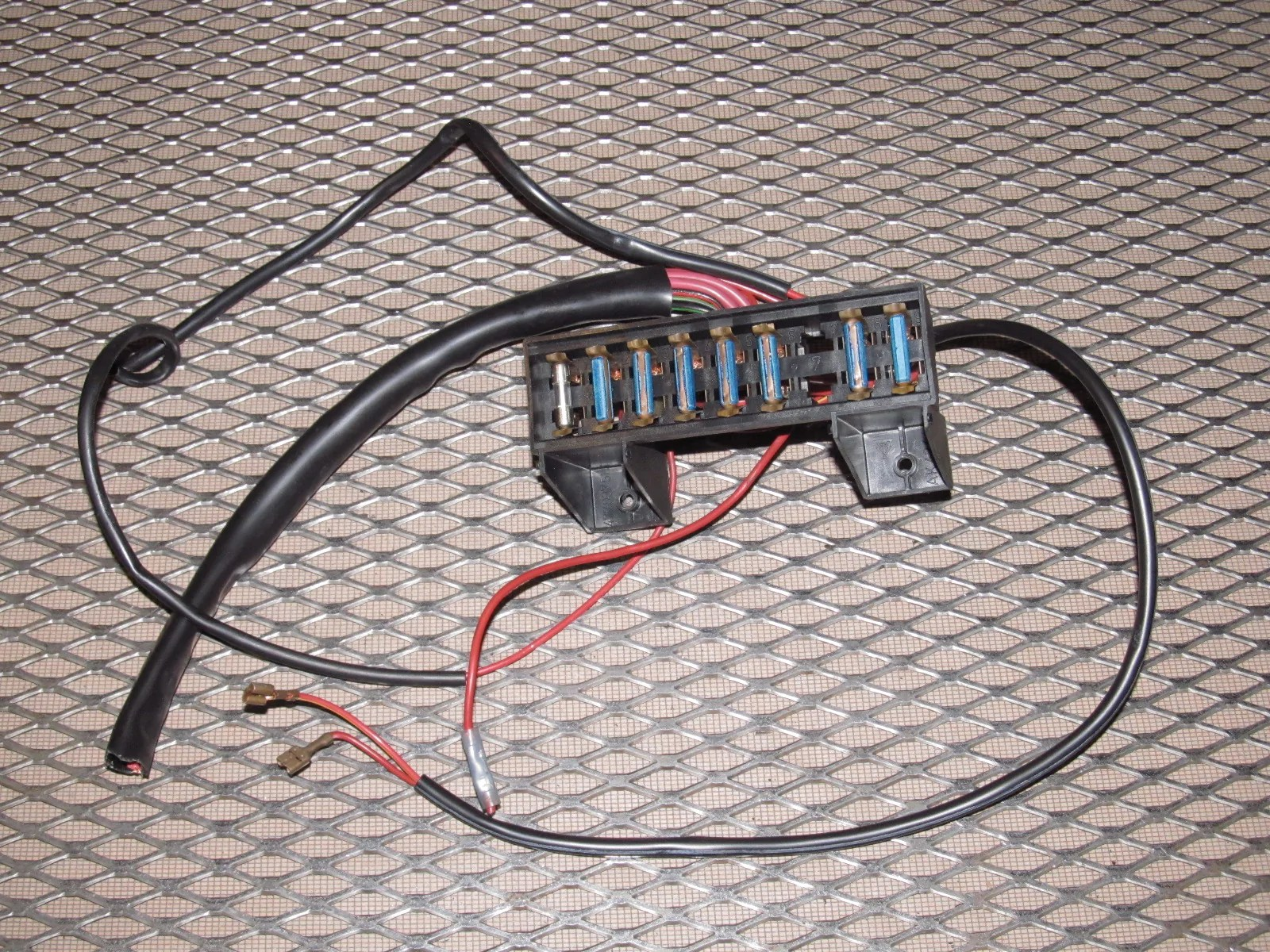hight resolution of home 83 85 porsche 944 oem interior fuse box product image