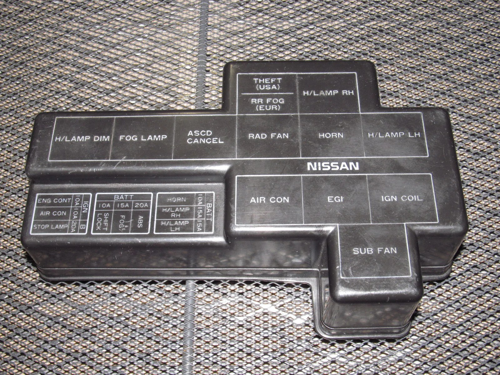 9096 Nissan 300zx OEM Engine Fuse Box Cover – Autopartone
