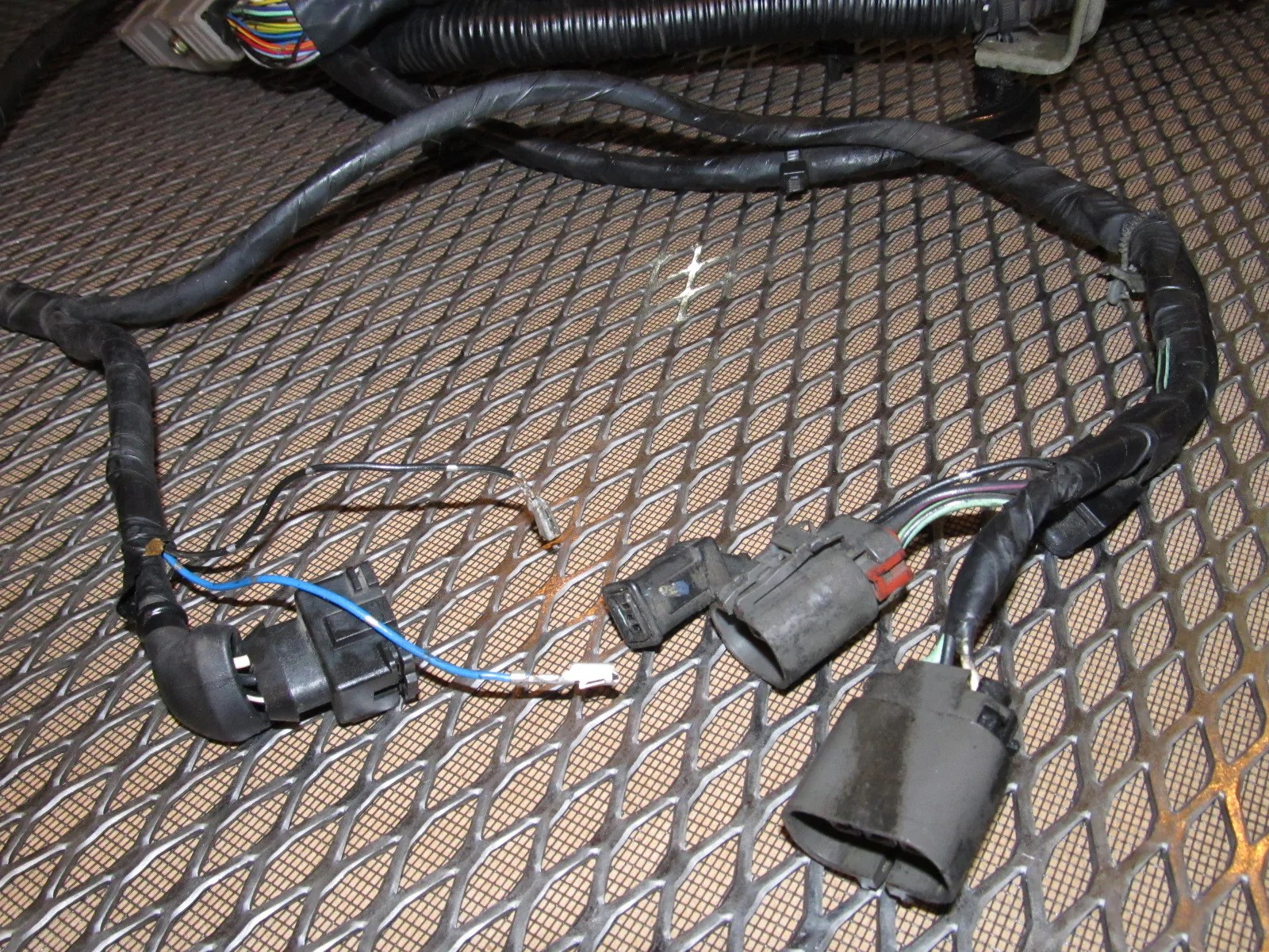 small resolution of 89 90 nissan 240sx oem engine wiring harness ka24e m t radio wiring harness 89 90 nissan