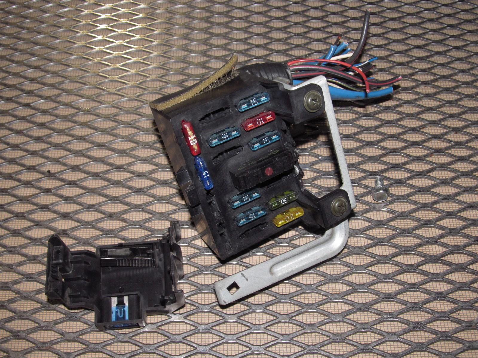 Nissan 240sx Fuse Box Diagram S13 Kick Panel Fuse Diagram Nissan